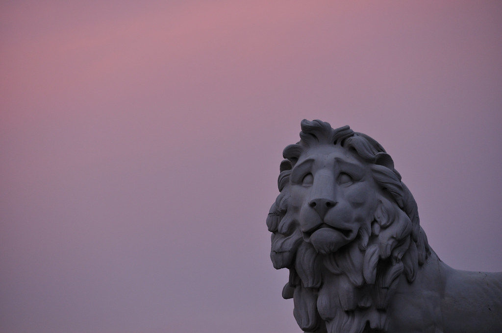 A Lion in Westminster